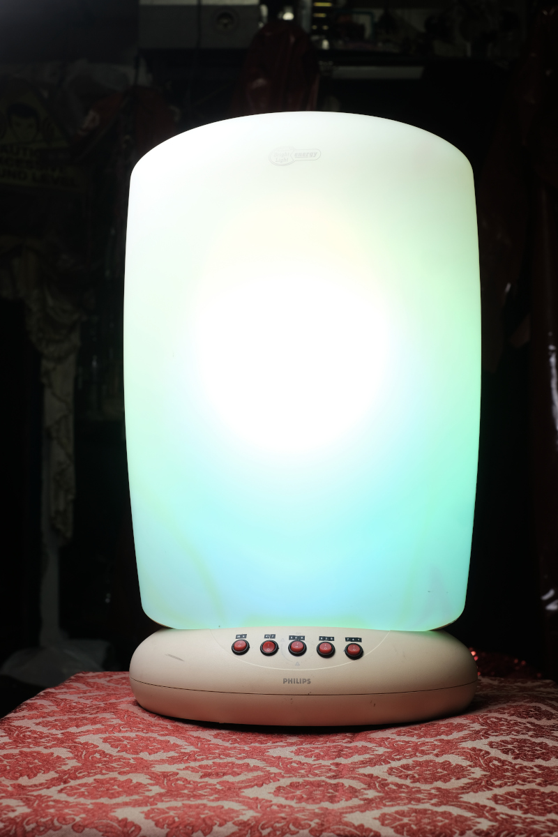 Solfeggio Light Therapy Lamp cover picture